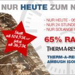 Therm-a-rest Isomatte mit 65% Rabatt beim Bergfreunde-Nikolaus