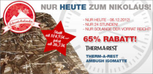 Therm-a-rest Ambush Angebot bei Bergfreunde.de