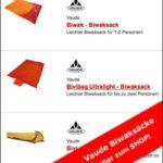Biwaksack von Vaude - von Sack bis Zelt