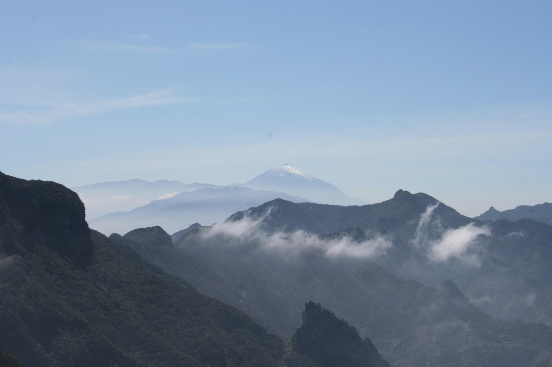 Wandern auf Teneriffa – der Teide ist allgegenwärtig-teide