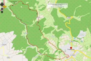 Wanderung Frankenau Karte
