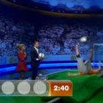 """Slackline Trick: Fallrückzieher auf der Slackline bei """"Wetten dass"""""""