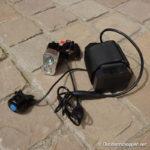 Xeccon Fahrradlampe verkabelt